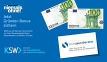 Jetzt  EUR 200,- Gründergutschein sichern!