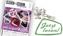 Clever Steuern Magazin: Die neueste Ausgabe ist da!